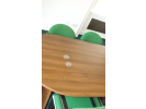 Cropped conference room