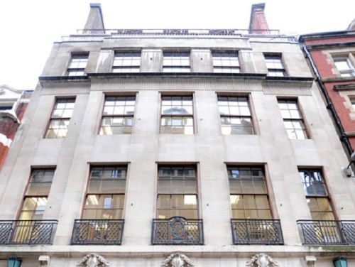 Managed office space London Austin Friars exterior
