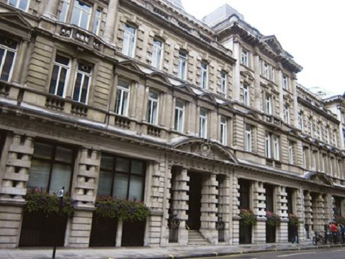 Managed office space London London Wall exterior