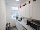 Flexible office space London 1st floor kitchen