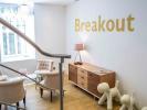 Flexible office space London Break Out Area