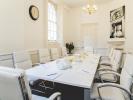 Flexible office space London Boardroom