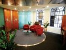 Managed office space London Austin Friars waiting area