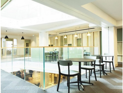 Office rental in London Seating Area