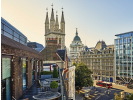 Snow Hill  serviced office space London Office  Balcony