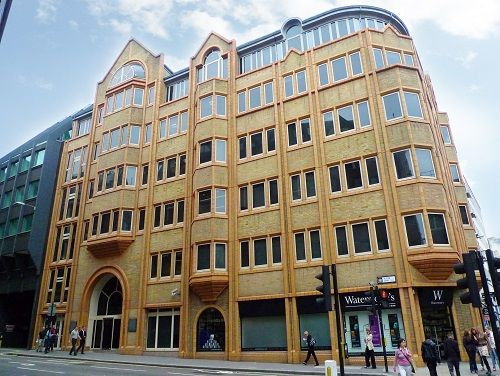 offices to rent in London Fetter Lane exterior