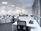 Offices to lease London Broadgate Circle open plan office