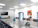 Managed office space London boardroom
