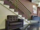 Flexible office space London entrance seating