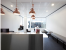 Flexible office space London Reception