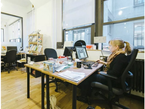 Varick St + Charlton St Office images